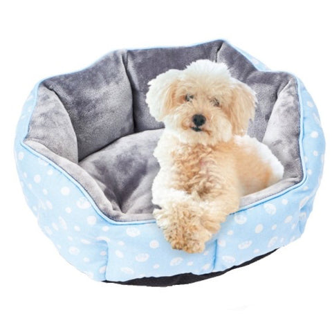 Marukan Blue Shell Dog Bed (Small) - Kohepets