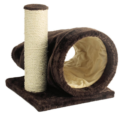 Marukan Brisky Tunnel Cat Scratcher - Kohepets