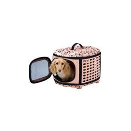 Marukan Crate Collapsible Pet Carrier