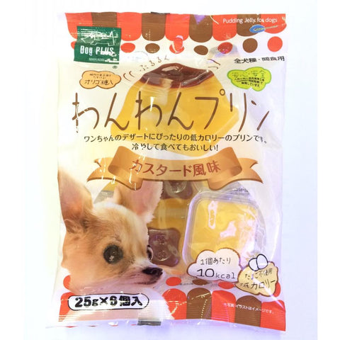Marukan Custard Jelly Pudding Dog Treats 25g