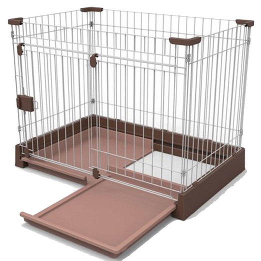Marukan Easy Cleaning Brown Dog Cage