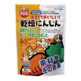 Marukan Dried Carrot Slice for Small Animals 90g