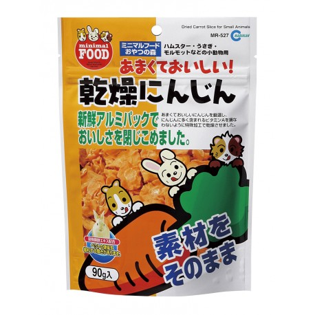 Marukan Dried Carrot Slice for Small Animals 90g - Kohepets