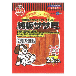 Marukan Dried Sasami Flat Dog Treat 25pcs