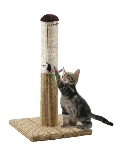 Marukan Foldable Scratch Tower For Cats