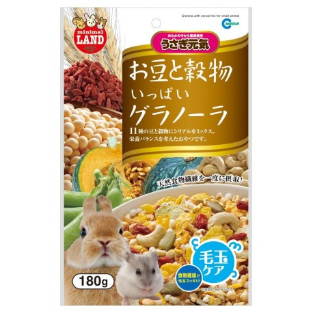 Marukan Granola Cereal Mix for Small Animals 180g - Kohepets