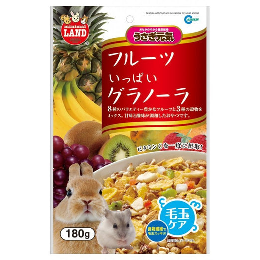 Marukan Granola with Fruit and Cereal Mix for Small Animals 180g