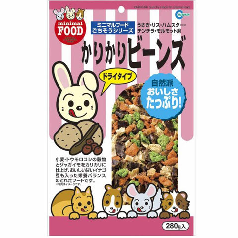 Marukan Kari Kari Crunchy Snack for Small Animals 280g - Kohepets
