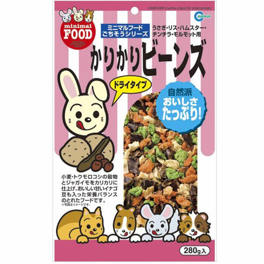 Marukan Kari Kari Crunchy Snack for Small Animals 280g