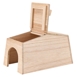 Marukan Natural Wood House for Small Pets