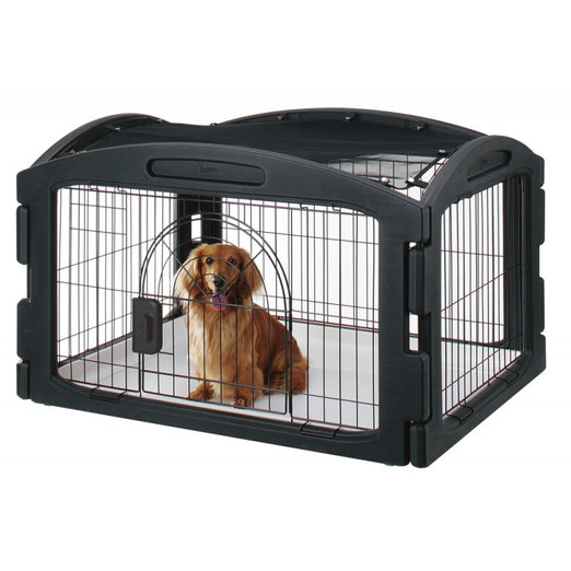 15% OFF: Marukan New Soft Circle Dog Cage - Kohepets