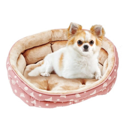 Marukan Pink Oval Dog Bed (Small)