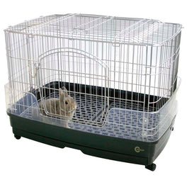 Marukan Rabbit Cage With Clear Guard