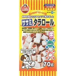 Marukan Sasami & Cod Fish Wrap Dog Treat 70g