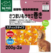 Marukan Sasami Sweet Potato Roll Dog Treat 220g x 2