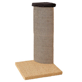 Marukan Corner Cardboard Cat Scratching Tower