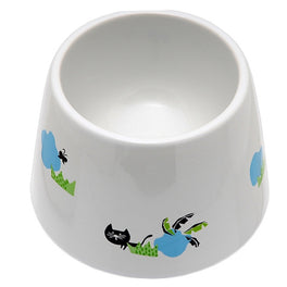 Marukan Easy Eat Ceramic Water Cat Dish