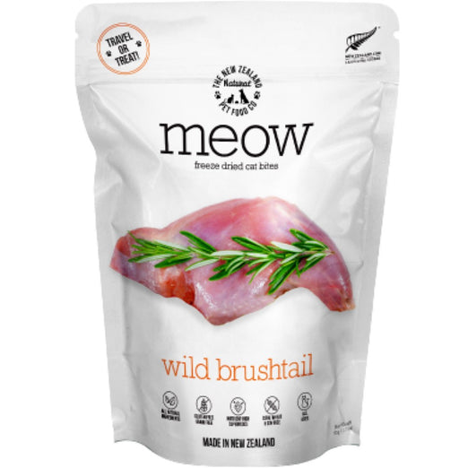 MEOW Wild Brushtail Grain-Free Freeze Dried Cat Treats 50g - Kohepets