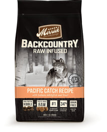 Merrick Backcountry Raw Infused Pacific Catch Recipe Grain Free Dry Dog Food