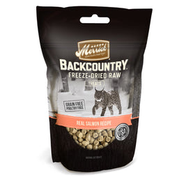 Merrick Backcountry Real Salmon Freeze Dried Raw Cat Treats 1oz