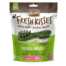 Merrick Fresh Kisses Double-Brush Coconut Oil Small Dog Treats 5.5oz