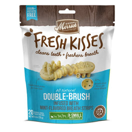 Merrick Fresh Kisses Double-Brush Mint-Flavoured Extra Small Dog Treats 6oz