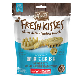 Merrick Fresh Kisses Double-Brush Mint-Flavoured Medium Dog Treats 6oz