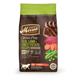 Merrick Grain Free Real Lamb & Sweet Potato Dry Dog Food