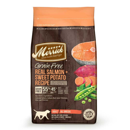 Merrick Grain Free Real Salmon & Sweet Potato Dry Dog Food