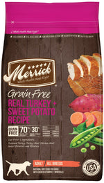 Merrick Grain Free Real Turkey & Sweet Potato Dry Dog Food