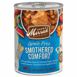 Merrick Grain-Free Smothered Comfort Canned Dog Food 360g