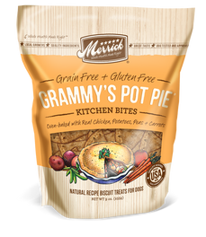 Merrick Grain-Free Grammy's Pot Pie Kitchen Bites Dog Treats 9oz