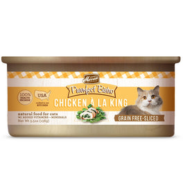 Merrick Purrfect Bistro Grain-Free Chicken À La King Morsels in Gravy Canned Cat Food 156g
