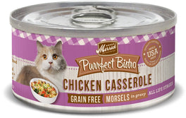 Merrick Purrfect Bistro Grain-Free Chicken Casserole Morsels in Gravy Canned Cat Food 85g