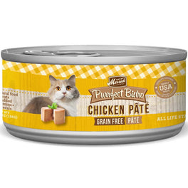 Merrick Purrfect Bistro Grain-Free Chicken Pate Canned Cat Food 156g