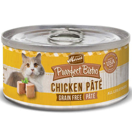 Merrick Purrfect Bistro Grain-Free Chicken Pate Canned Cat Food 85g