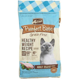 Merrick Purrfect Bistro Grain Free Healthy Weight Maintenance Dry Cat Food