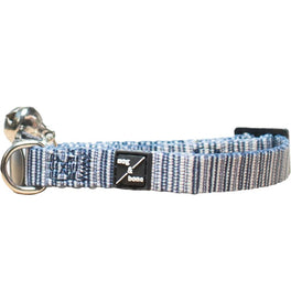 Mog & Bone Cat Collar - Chambray Stripe