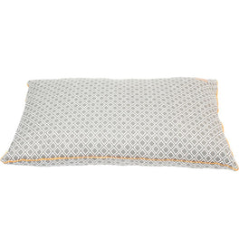 Mog & Bone Futon Dog Bed - Grey Ikat