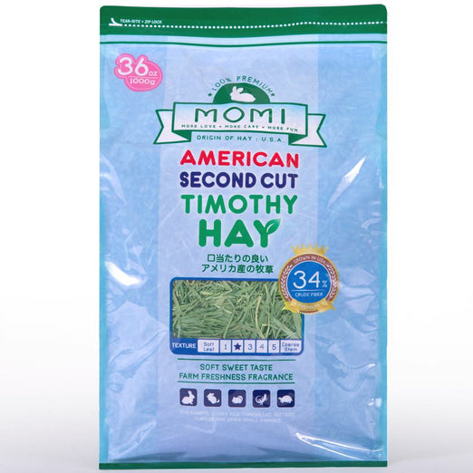 Momi Second Cut Timothy Hay - Kohepets
