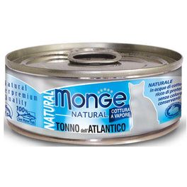 Monge Natural Atlantic Tuna Canned Cat Food 80g