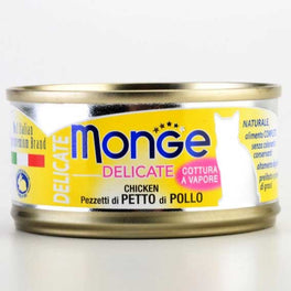 Monge Delicate Chicken Canned Cat Food 80g
