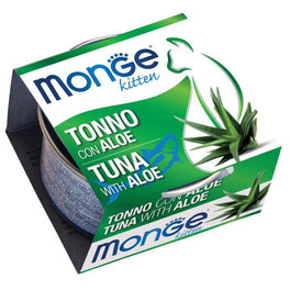 Monge Kitten Tuna With Aloe Canned Cat Food 80g