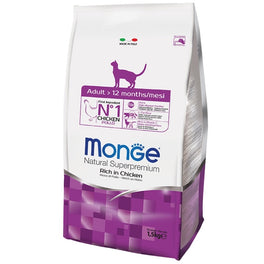 Monge Adult Chicken Dry Cat Food