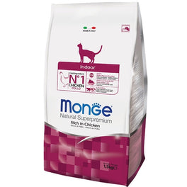 Monge Indoor Adult Dry Cat Food