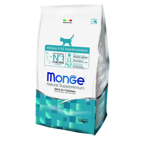 Monge Kitten Rich In Chicken Dry Cat Food