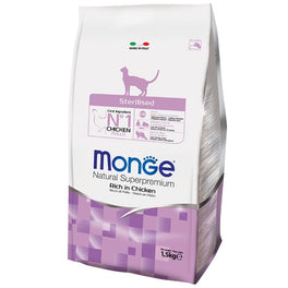 Monge Sterilised Adult Dry Cat Food
