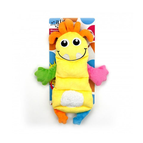 All For Paws Monster Plush Squeaker Assorted Dog Toy - Kohepets