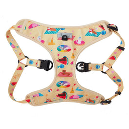 Moo+Twig Beach Bums Step-In Dog Harness