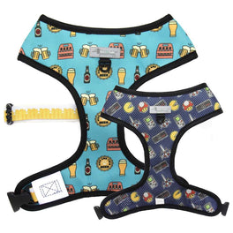 Moo+Twig Boy's Night Reversible Dog Harness